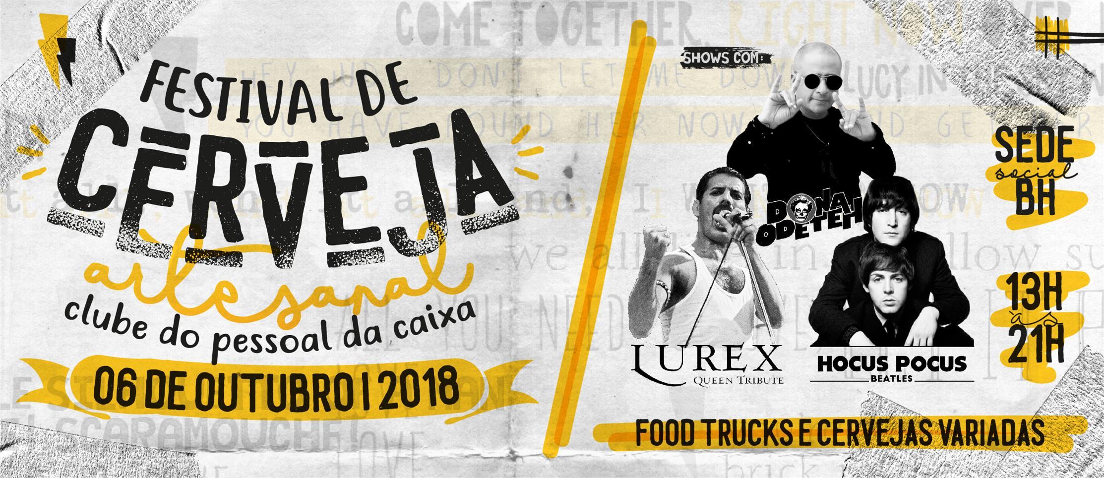 204a3a46d3 Estão abertas as vendas para o 1° Festival de Cerveja Artesanal da  APCEF MG! O evento será realizado no dia 06 de outubro de 2018